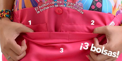 mandil para educadora con mas bolsas