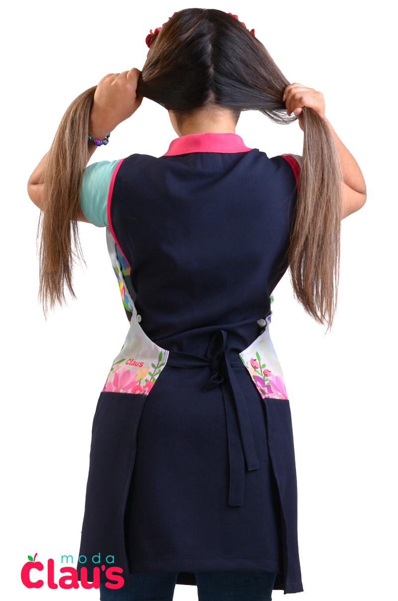 espalda de mandiles para maestras de preescolar modernos