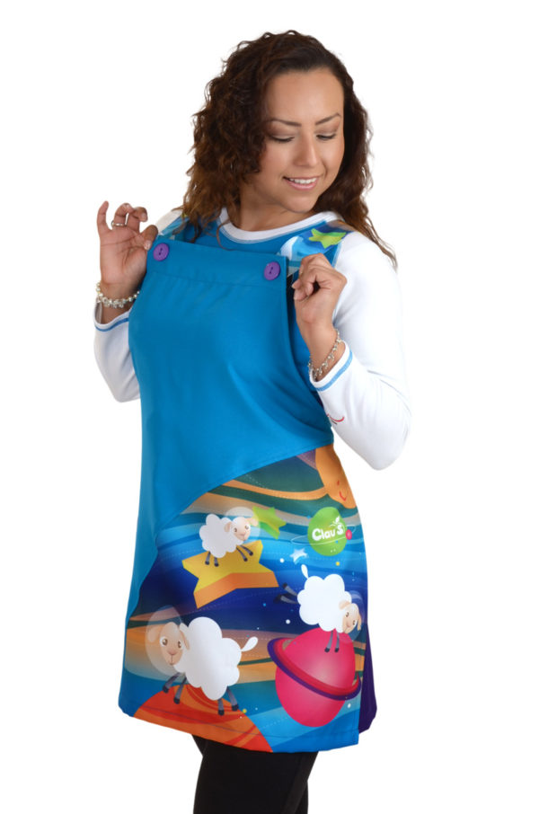 uniformes para educadoras moda claus