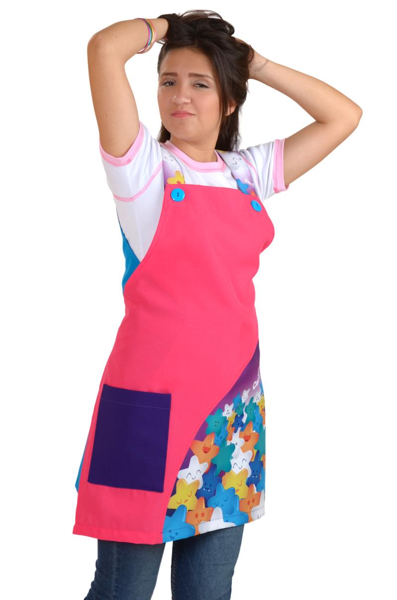 uniformes para educadoras y maestras moda claus