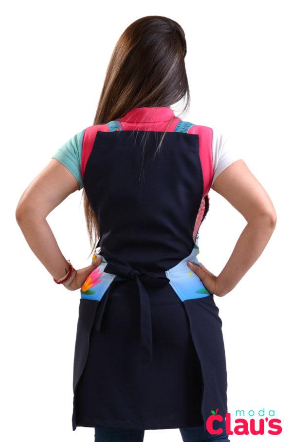 mandiles para maestras de preescolar moda claus 10
