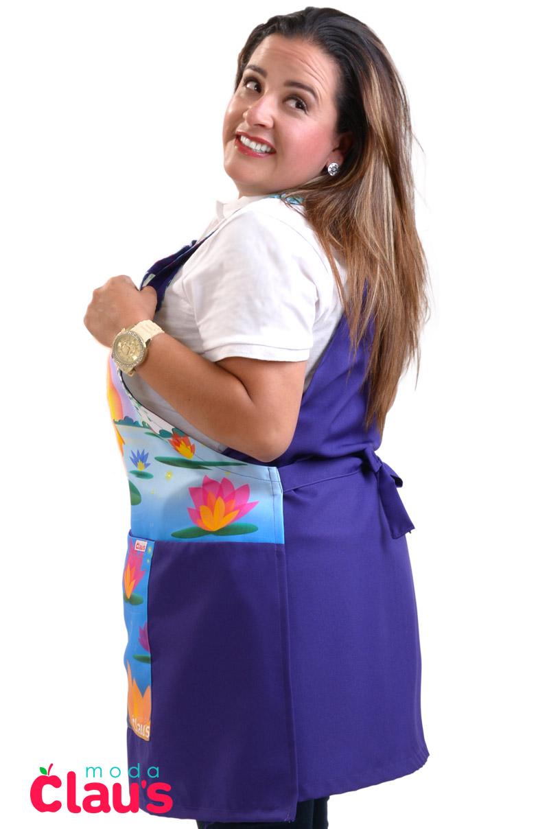 mandiles para maestras de preescolar moda claus 12