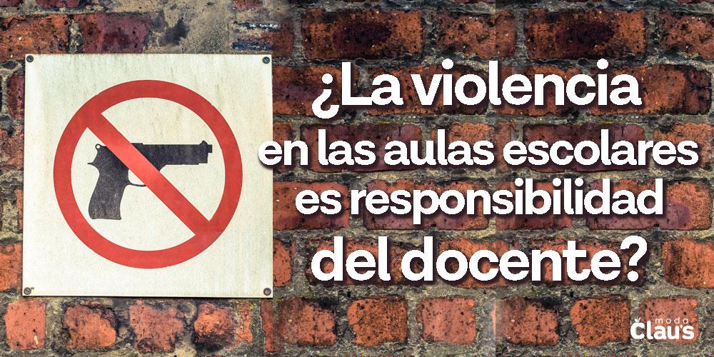 Violencia escolar en México